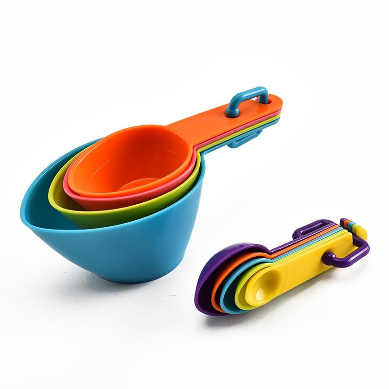 4Pcs/5pcs/10pcs Multi Purpose Spoons/Cup Measuring Kitchen Tool Kitchen cb5feb1b7314637725a2e7: 10pc pink set|10pc white set|10pcs gray|10pcs light green|10pcs mint green|10pcs pink|10pcs purple|10pcs red|4pc black cup|4pc black spoon|4pc Colorful L|4pc green cup|4pc green spoon|4pc white cup|4pc white spoon|4pc yellow cup|4pc yellow spoon|5pc black cup|5pc black spoon|5pc Colorful S|5pc Curved spoon|5pc Multicolor spoon|5pc purple spoon|5pc white spoon|9pcs blue|9pcs pink|9pcs purple|9pcs red|9pcs white
