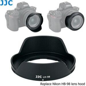 Image 2 - HB 98 lentes reversibles Hood sombra con 52mm UV filtro para Nikon NIKKOR Z 24 50mm f/4 6,3 lente Nikon Z5 Z6 Z7 Z6II Z7II Cámara