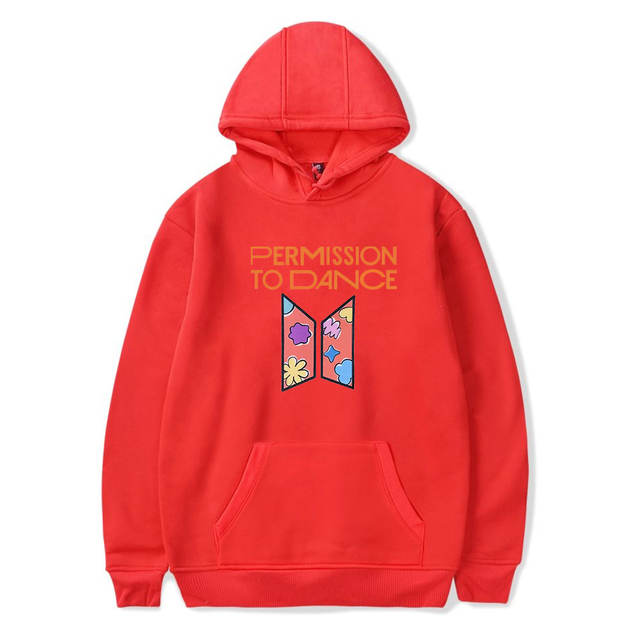 PERMISSION TO DANCE THEMED HOODIE