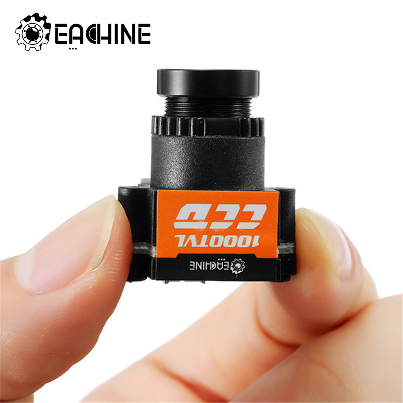 Eachine 1000TVL 1/3 CCD 5-20V <font><b>M12</b></font> 110 Degree <font><b>2.8mm</b></font> Lens Mini FPV Camera NTSC PAL Switchable For FPV Camera Drone NTSC/PAL image