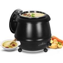Коммерческий Электрический чайник для супа itop подогреватель