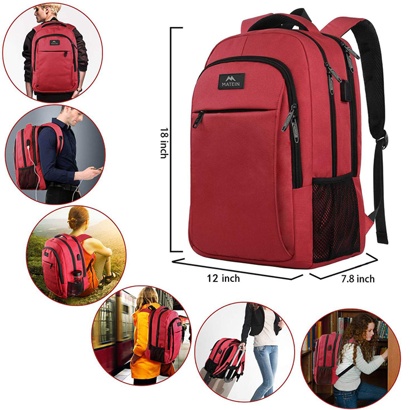 Red backpack-7