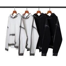 100% algodão masculino hoodies moletom com capuz retro q03313