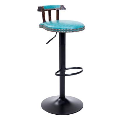 European Style Bar Chair Lift  Modern Simple Household Revolving   High Stool Cash Register  Back