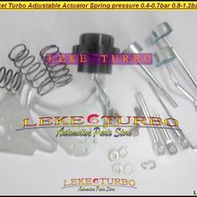 С 2 шт. кронштейном-турбонагнетатель Регулируемый пусковой привод клапан пружинное давление 0,4-0,7 бар 0,8-1,2 бар-бар