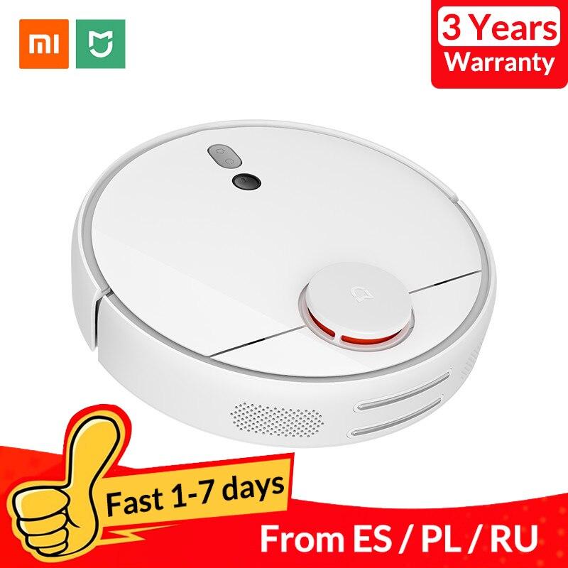 Aspirateur Robot Xiao mi mi d'origine 1S pour la maison Charge de balayage automatique intelligent planifié WIFI APP télécommande nettoyeur de poussière