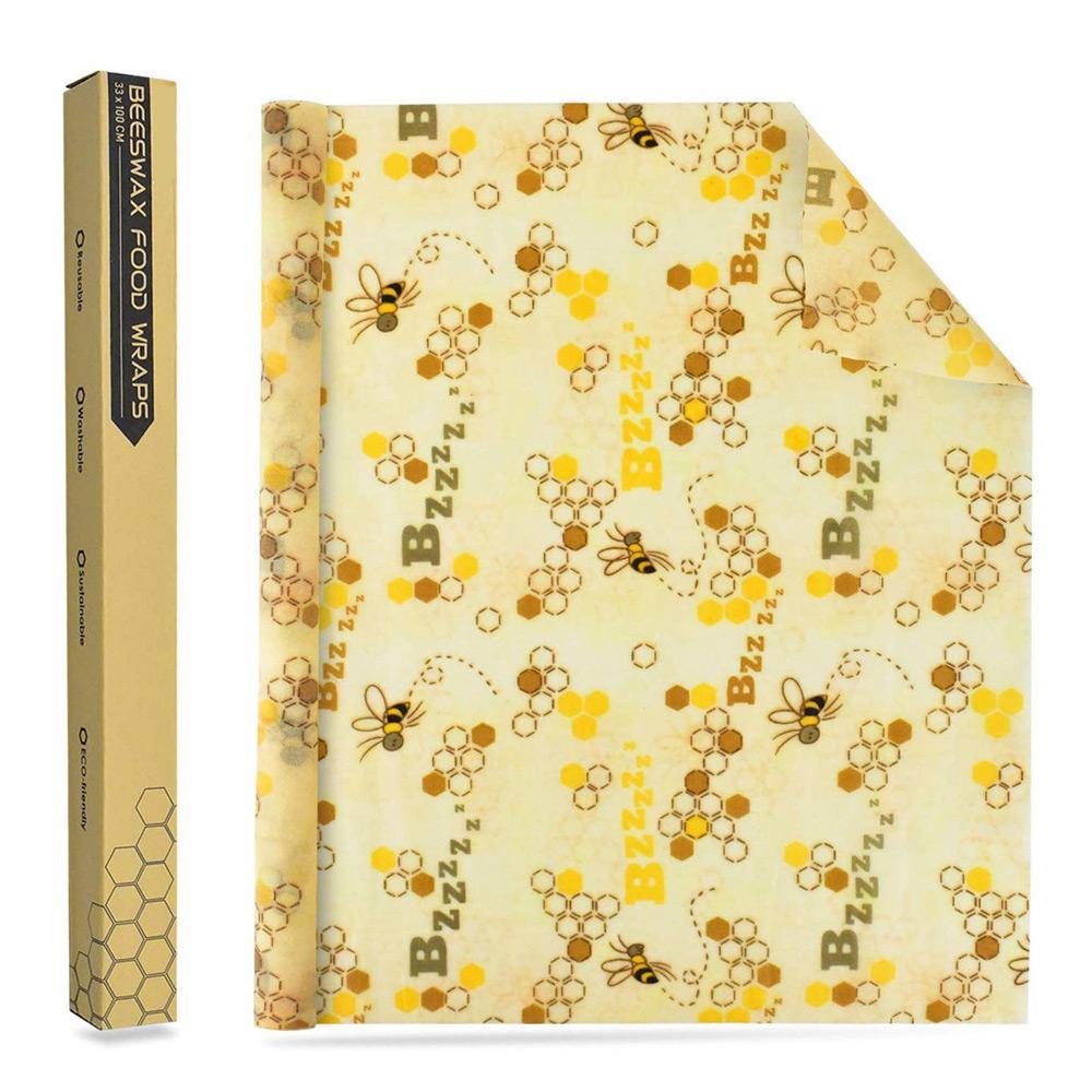 Многоразовая упаковка из пчелиного воска 1 рулон уплотнение
