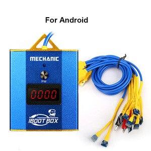 Image 2 - Cabo de fonte de alimentação mecânica iboot box, para iphone 6 6p 6s 6sp 7p 8p linha de fonte de alimentação de bateria x xs xsmax/samsung/android