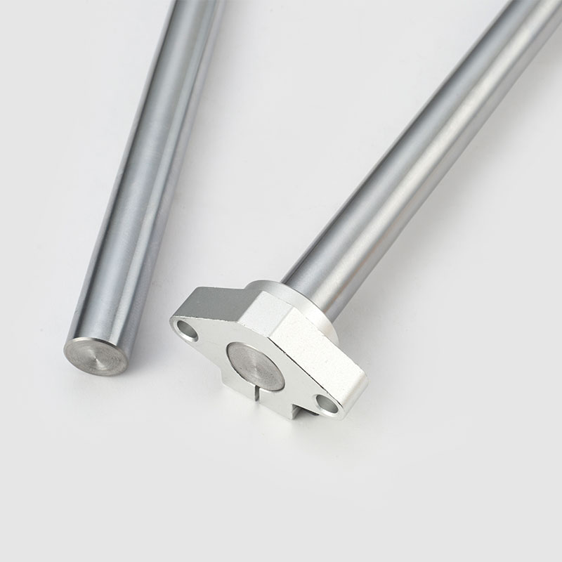 2pcs linear rail 3d printer parts Cylinder Chrome Plated Liner Rods axis Linear shaft round rod L 100 200 300 400 800 cnc WCS