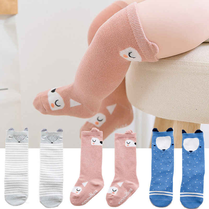 8 Style Cute Lovely Newborn Toddler Baby Girl Boy Cotton Print  Panty Hose Over Knee Tights Stockings 0-4 Years