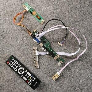 Vga + av + usb lcd drive cartão de 20 pinos lvds 1024*768 painel apto ltn121x1/ltn121xa/ltn121xf/ltn121xj/ltn121xu tela 1-ccfl kit diy