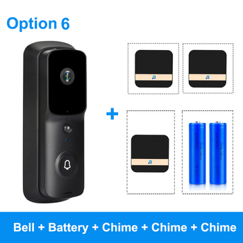 ZILNK WIFI Doorbell Camera 1080P HD Smart WI-FI Video Intercom IP Door Bell With Chime For Apartments Wireless Security Visual 10