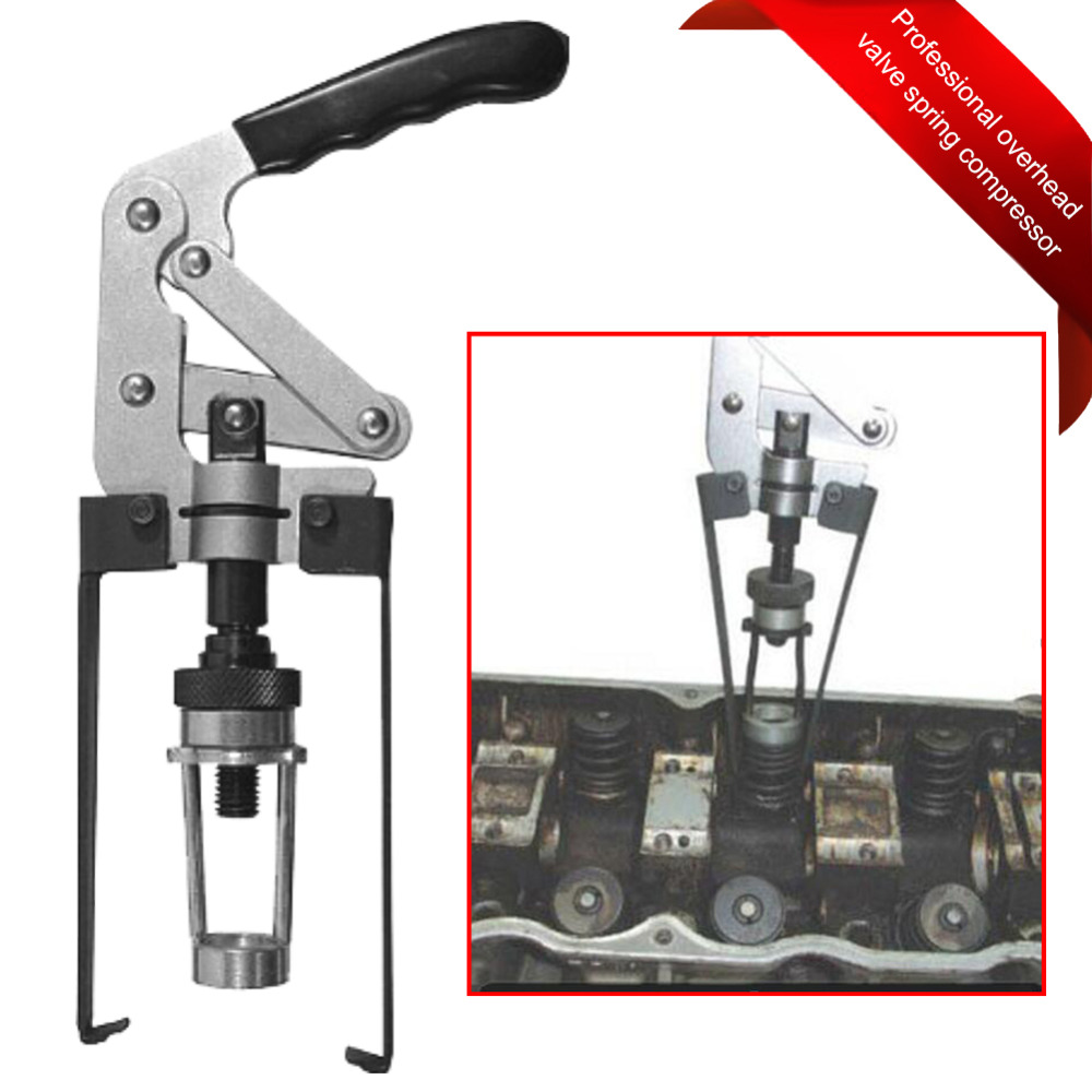 Overhead Valve Spring Compressor Removal Tool For OHV OHC CHV Engines Seal Keeper Replacement Engines Spring Compressor Oversea