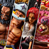 One Piece Four Emperors Pirates Shanks Kaido White Beard Charlotte Linlin BIG MOM PVC Action Figures Collection Model Toys Doll 1