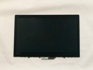 "Image 2 - L380 용 Yoga 20M7 20M8 노트북 ThinkPad 13.3 ""LCD 조립품 터치 스크린 기존 LGD 02DA313 FHD 1920*1080 IPS 72% NTSC 테스트"