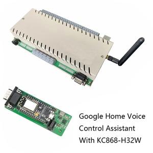 Image 5 - جوجل الرئيسية التحكم الصوتي مساعد نوديمكو ESP8266 وحدة النظام الذكي اللاسلكية واي فاي IOT مجلس التنمية