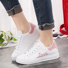 2019 Fashion Casual Shoes Women Spring Summer Ladies LOVE Flat Bottom Sneakers