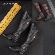 В наличии 1/6 Весы Аксессуар мужская кожаная обувь длинные игрушечные