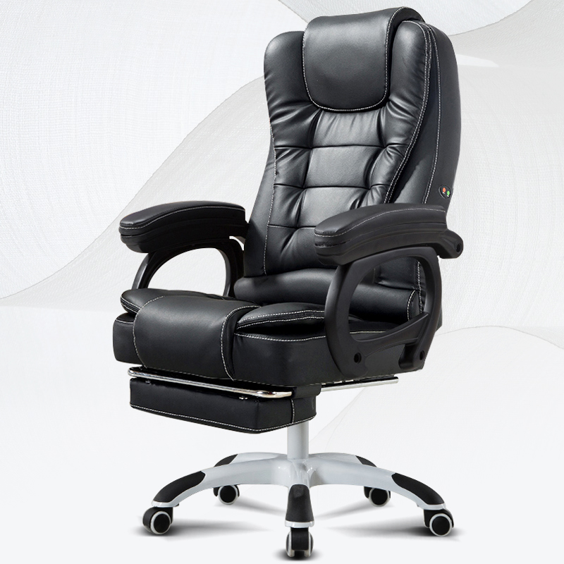 Love Computer Chair Home Office Chair Reclining Boss Chair Leather Art Chair Desk Chair Lift Swivel Chair Massage Chair