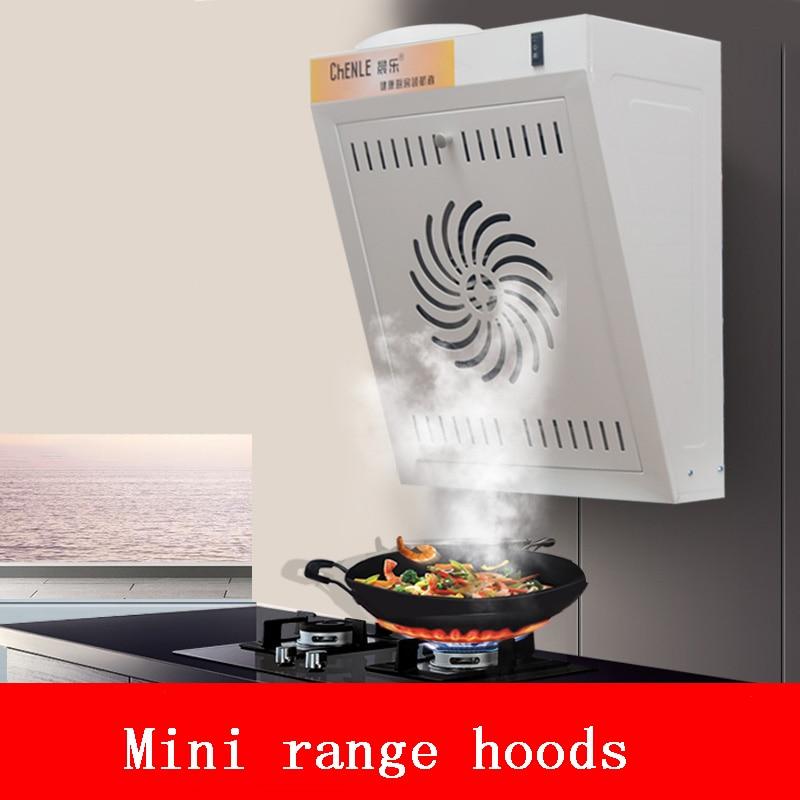 Wall-mounted Range Hoods Mini Mute Big Suction Kitchen Apartment Grease Pump Hoods Kitchen