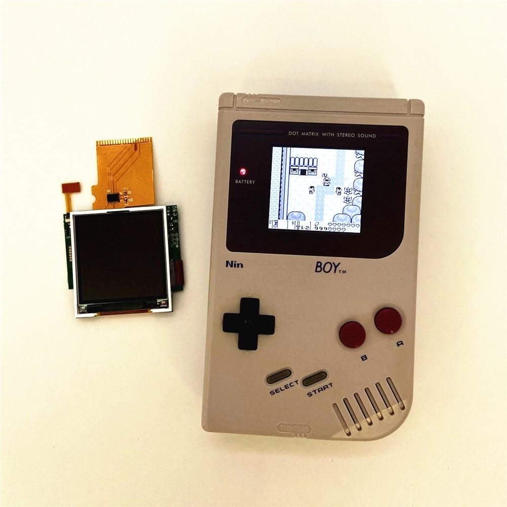 De alta luminosidad LCD kit de rediseño para Gameboy DMG GB pantalla LCD retroiluminada