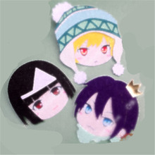 Anime Noragami Cartoon Yukine Cosplay Badge Nonwoven Fabric Brooch Pin Decor Prop Bedge Christmas Gifts for Women Girl 1pcs(China)