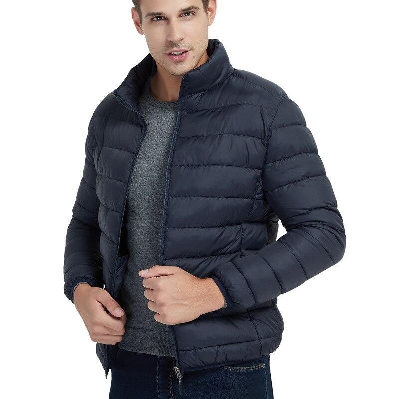 Ultra thin   down   jacket man slim fit stand collar waterproof windproof lightweight   down   jacket &   coat   for male 2019 man jacket