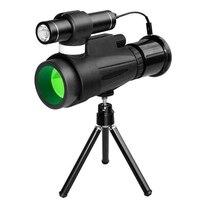 Hot 12X50 Monocular Telescope High Power Prism Monocular, Infrared Monocular for Outdoor Trip Night Watcing