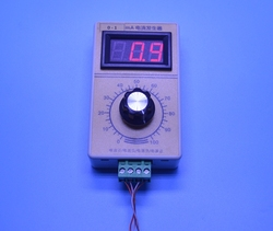 0-1mA Generator sygnału prądowego  ręczny Generator analogowy z wyświetlaczem cyfrowym