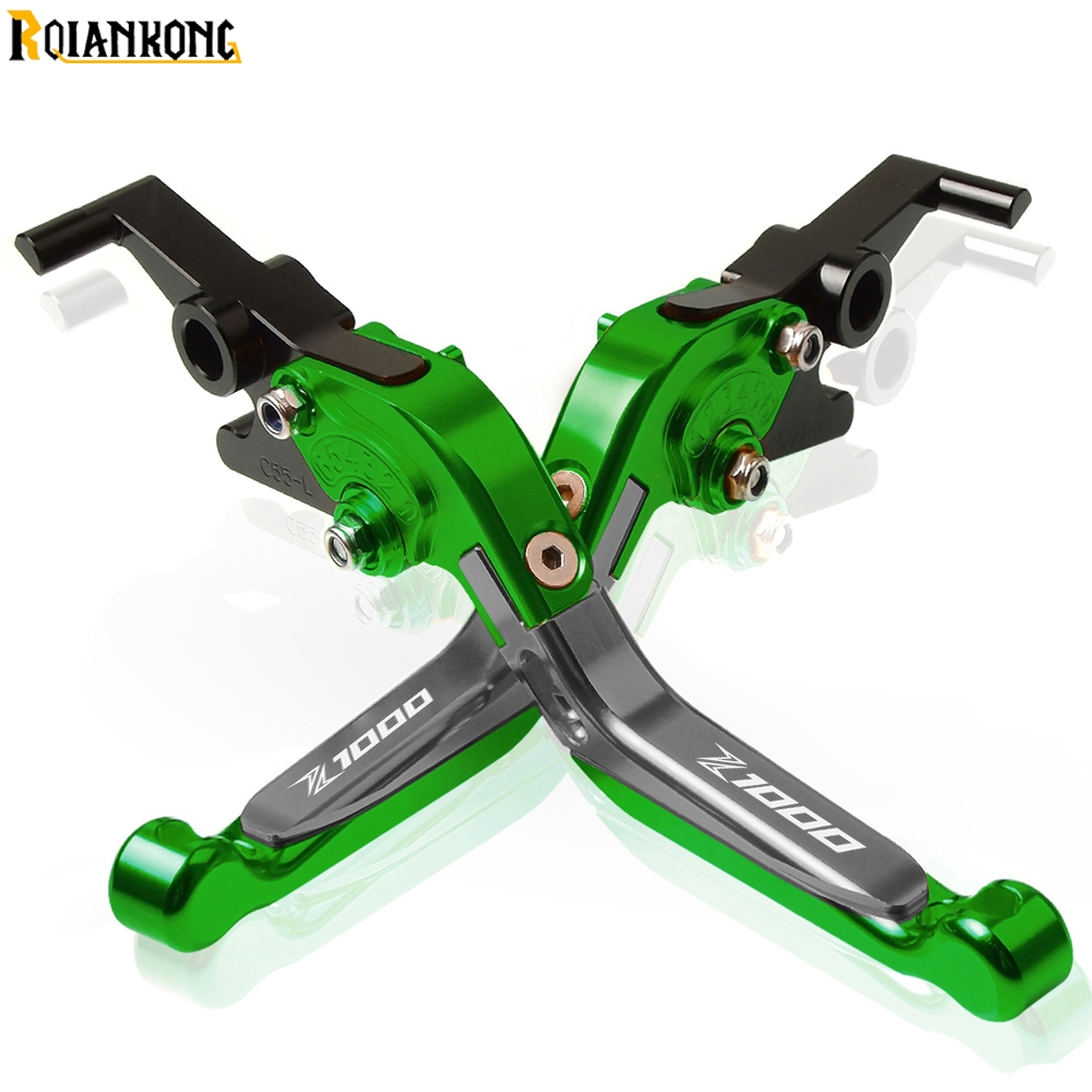 Motorcycle CNC Adjustable Brake Clutch Levers handle Motorcycle Accessories For KAWASAKI <font><b>Z1000</b></font> 2017 2018 2017-2018 <font><b>Z1000</b></font> <font><b>2019</b></font> image