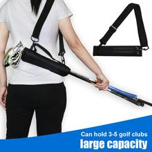 Storage-Bag Golf-Club 4-Ball Outdoor for Nylon Nails Can-Install Accommodates Attachments