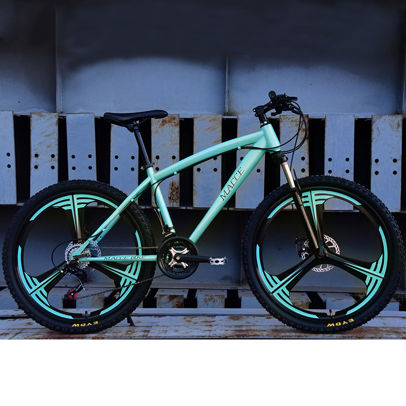 Mountain Bike Bicycle 21/24/27 Speed Double Disc Brake 26 Inch Male And Female Students One-Wheel Variable Speed Bicycle