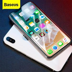 Image 1 - Baseus Screen Protector Tempered Glass For iPhone X 10 4D Surface Full Cover Protection Glass Film For iPhoneX Protective Glass