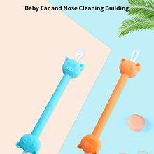 Light Scoop Care-Tools Ear-Spoon Ears-Cleaning Baby Kids Cartoon-Bear Luminous with Earwax