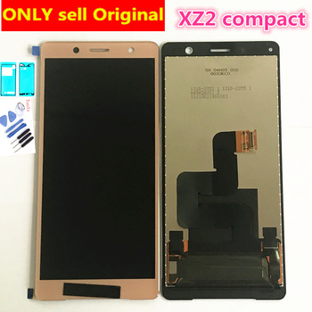 5.0'' Original LCD For Sony Xperia XZ2 Mini LCD Display Touch Screen Digitizer Assembly Replacement For Sony XZ2 Compact LCD аксессуар чехол для sony xperia xz2 compact scth50 black