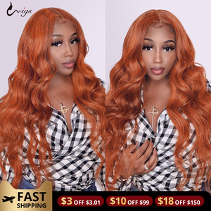 30 32 Inch Body Wave Wig Ginger Lace front wig 13x4x1 Lace Front Human Hair Wigs 99j Burgundy Lace Front Wig Brazilian Remy Wigs