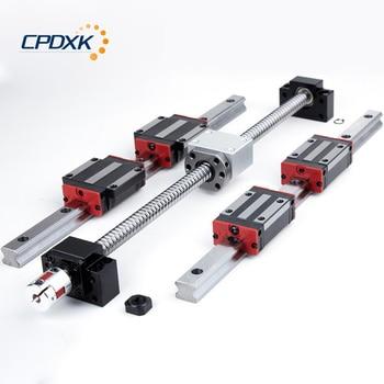 20mm Linear Guide Rails HGR20 + HGH20CA /HGW20CC Linear Block +SFU1605/1610 Ball Screw Set