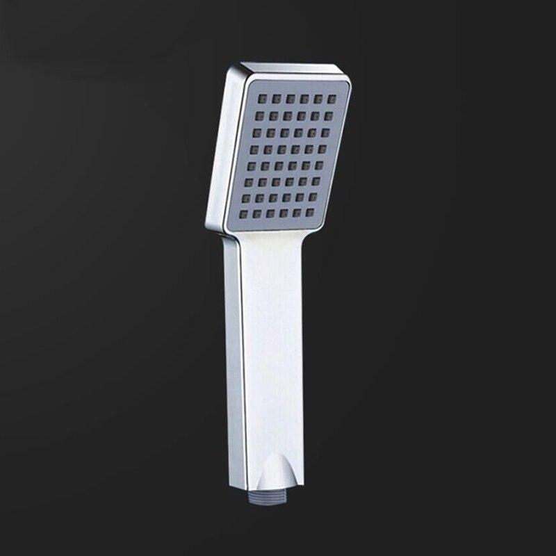 1pc Pressurized Water Saving Shower Head ABS Bathroom Hand Shower Water Booster Showerhead Bathroom Accessories