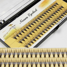 Eyelash-Extensions Mink True 60-Bundles Individual-Lashes Natural-Style Thickness 6d