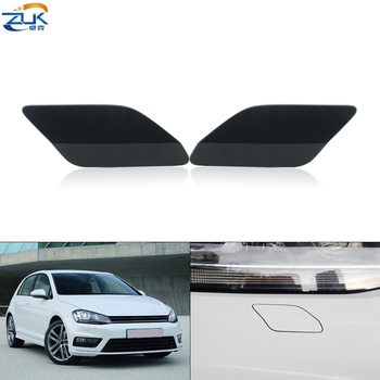 ZUK Headlight Washer Nozzle Cover For Volkswagen For Golf MK7 2014-2017 Headlamp Cleaning Water Spray Jet Cap Lid image