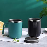 ステンレス鋼マグシンプルなコーヒーカップ断熱大容量ミルクコンテナ熱絶縁環境にやさしい