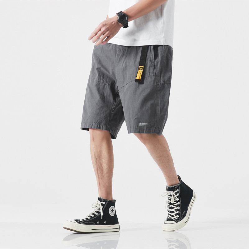 Nanxia Qiaozhuang 2019 Summer Shorts Japanese-style Origional Pure Cotton Loose-Fit Tailoring Stereo Versatile Casual Pants Men'