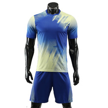 New Adult Soccer Jerseys Mens Short Sleeve Training Set Uniform Football Suits Boys Sets Tracksuit Team