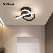 Luces LED modernas, lámpara de techo minimalista, lámpara de techo para el pasillo del hogar, sala de estar, habitación,balcón nórdica, lámpara de interior para pasillo