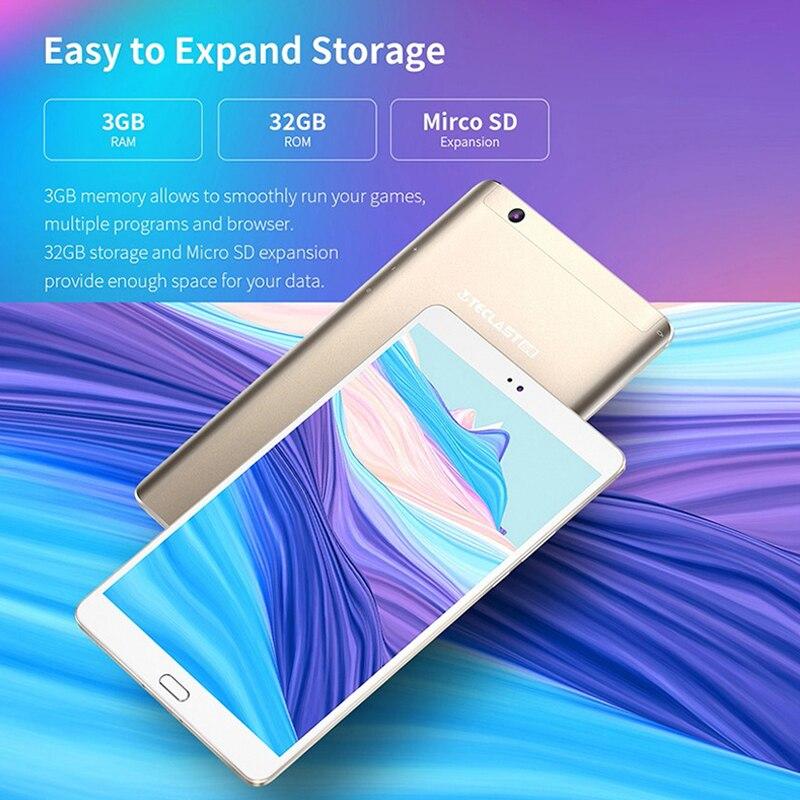 Teclast M8 Tablet PC da 8.4 pollici Android 7.1 2560x1600 Allwinner A63 Quad Core 3GB di RAM 32GB ROM 2.0MP Dual Wifi GPS Doppia Fotocamera - 6