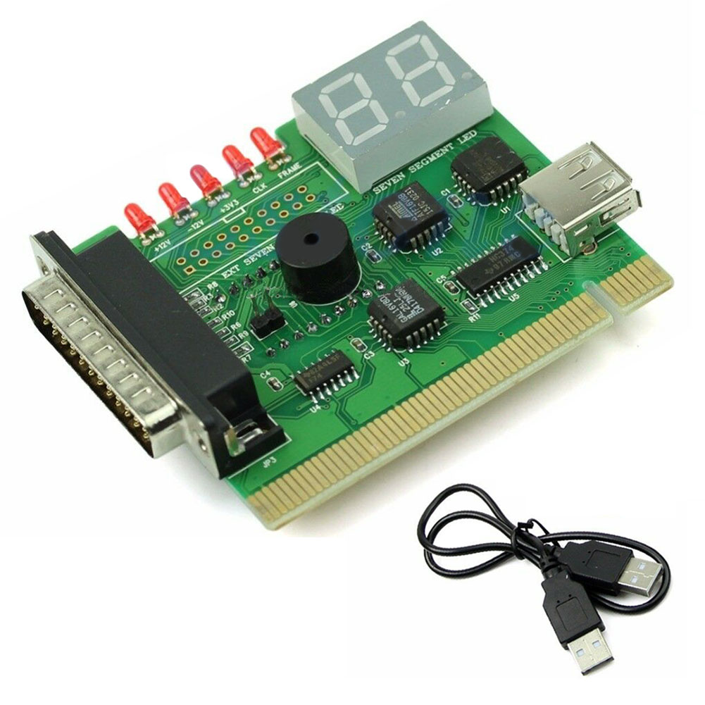 Notebook Diagnostic-Card Pci-Tester Computer Usb-Post-Analyzer Digital Code with Light
