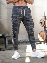 European and American gym sports new brothers sports overalls men's camouflage fitness trousers running training pants clothing