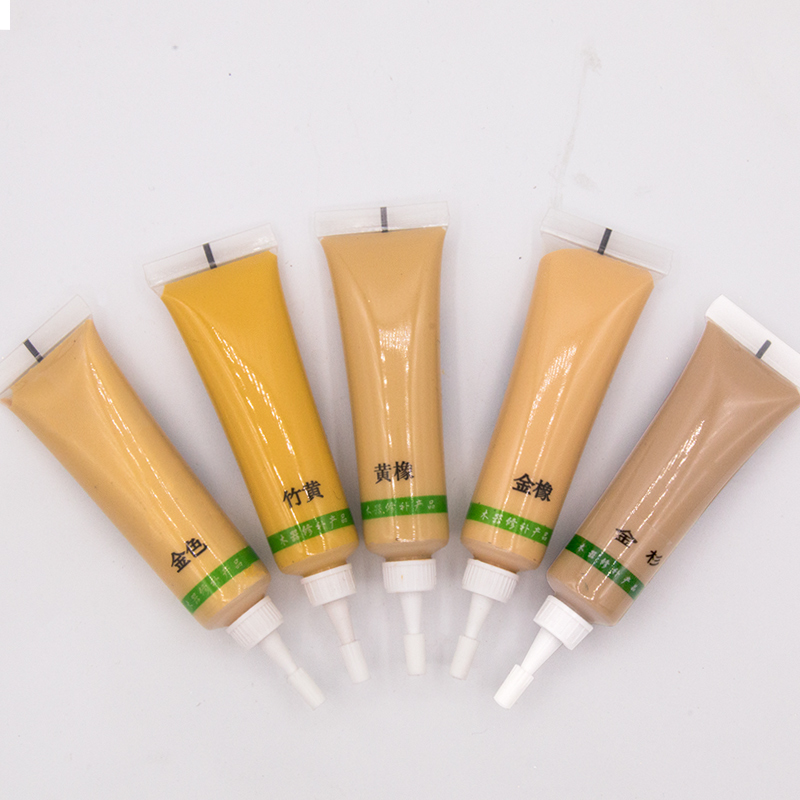 18g Yellow Rubber Furniture Scratch Remover Floor Repair Paint for Wood Furniture Refinishing in Paint By Number Paint Refills from Home Garden