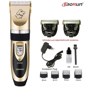 Image 2 - Professional Pet Dog Hair Trimmer Rechargeable Cat Animals Grooming Clippers Shaver Electric Scissors Dogs Hair Cutting Machine