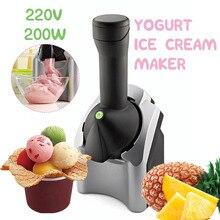 Ice-Cream-Maker-Machine Frozen-Fruit Automatic Portable-Size DIY 220v 220W Household-Use